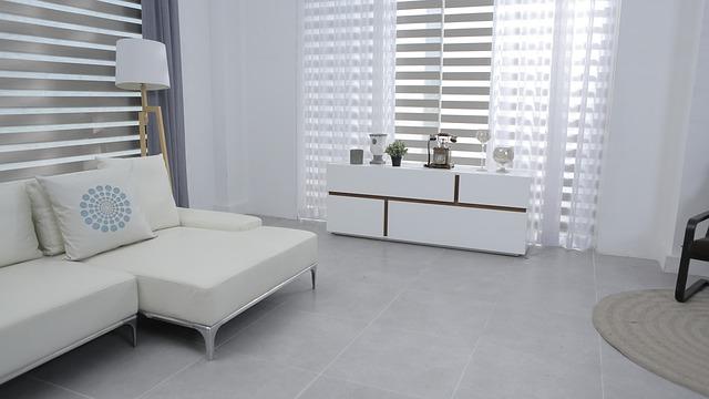 עיצוב וילונות לסלון